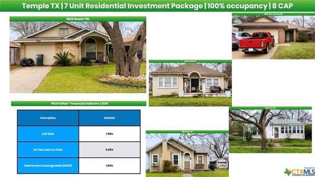 2910 San Jacinto Road, Temple, TX 76502 (MLS #402137) :: The Myles Group