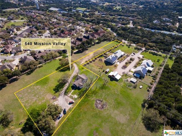 540 Mission Valley Road, New Braunfels, TX 78132 (MLS #404348) :: The Zaplac Group