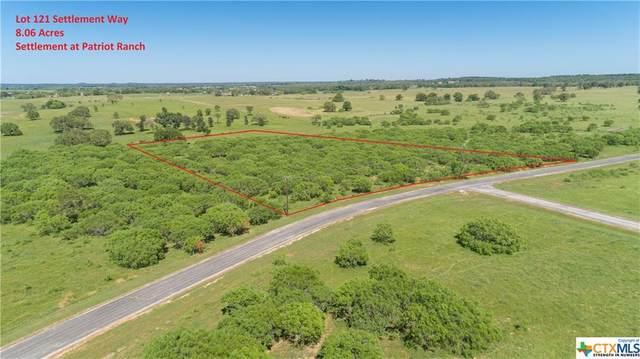 0 (Lot 121) Settlement Way, Luling, TX 78648 (MLS #408890) :: The Zaplac Group