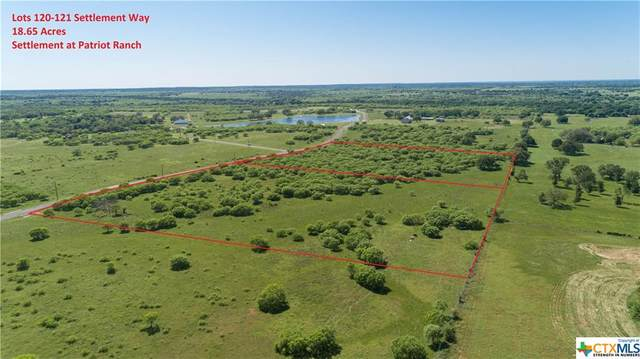 0 (Lots 120-121) Settlement Way, Luling, TX 78648 (MLS #410908) :: The Myles Group