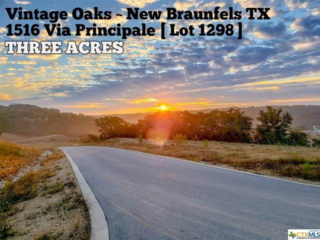 1516 Via Principale, New Braunfels, TX 78132 (MLS #411750) :: The Zaplac Group