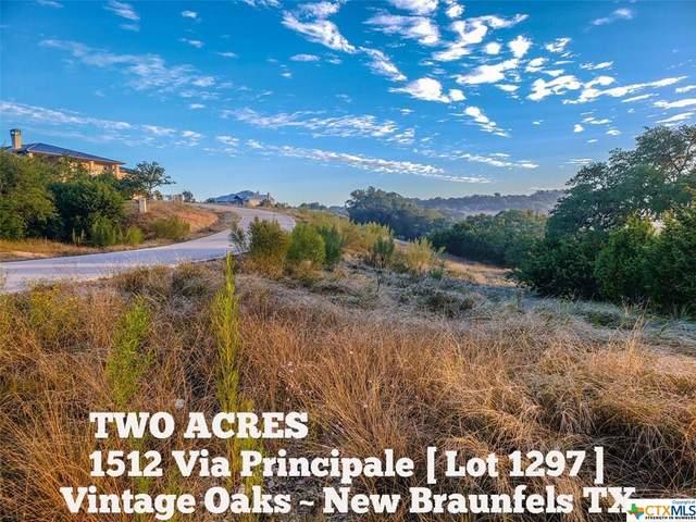 1512 Via Principale, New Braunfels, TX 78132 (#411761) :: All City Real Estate