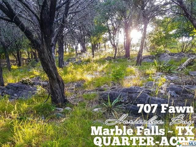707 Fawn, Horseshoe Bay, TX 78657 (MLS #411893) :: Brautigan Realty