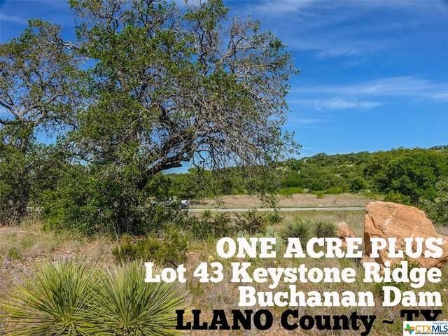 Lot 43 Keystone Ridge, OTHER, TX 78609 (MLS #411894) :: RE/MAX Family