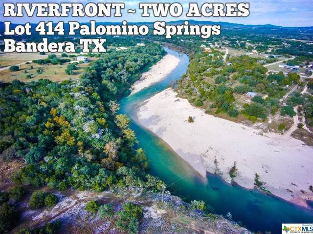 Lot 414 Palomino Springs, Bandera, TX 78003 (MLS #412262) :: The Zaplac Group
