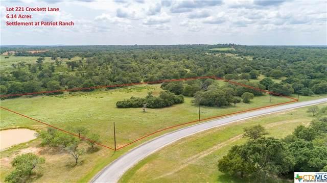 0 (Lot 221) Crockett Lane, Luling, TX 78648 (MLS #413563) :: Berkshire Hathaway HomeServices Don Johnson, REALTORS®