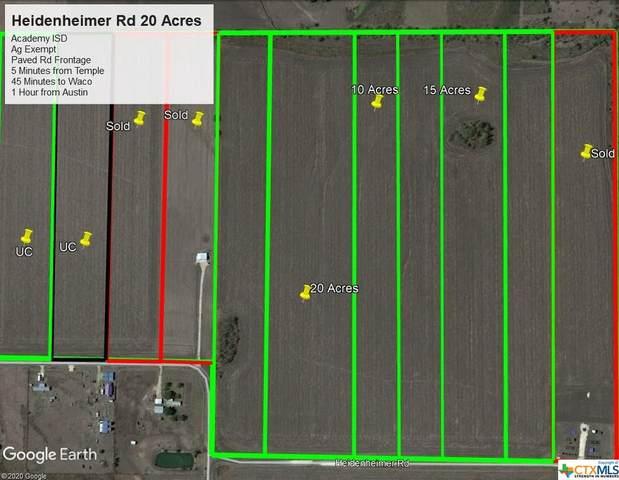 0000 Heidenheimer Road, Heidenheimer, TX 76533 (MLS #414027) :: The Real Estate Home Team