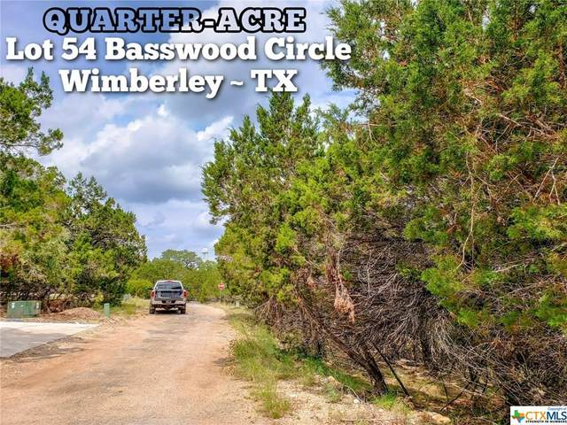Lot 54 Basswood Circle, Wimberley, TX 78676 (#414241) :: First Texas Brokerage Company