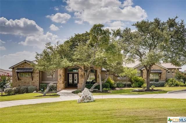 550 Cantera Ridge, New Braunfels, TX 78132 (#415242) :: Realty Executives - Town & Country