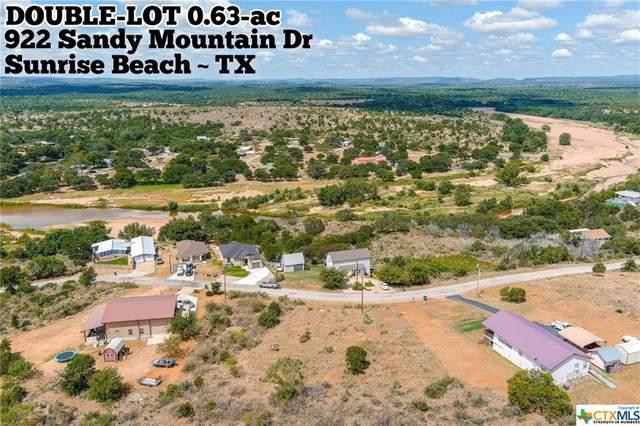 922 Sandy Mountain Drive, Sunrise Beach, TX 78643 (MLS #417874) :: Brautigan Realty