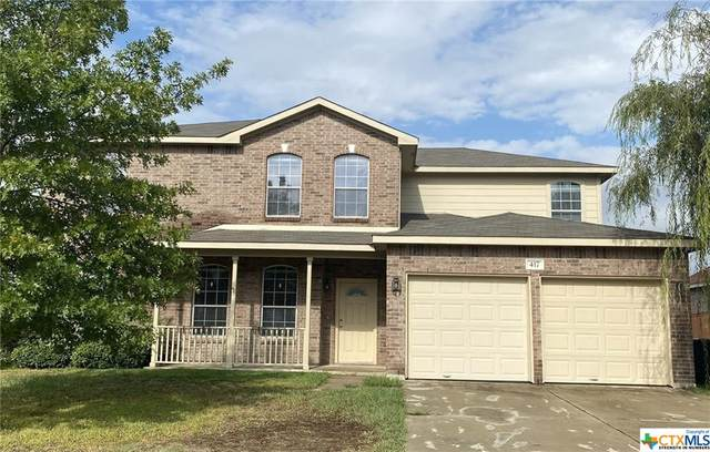 417 Cattail Circle, Harker Heights, TX 76548 (MLS #421543) :: The Real Estate Home Team