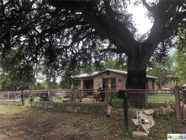 703 Pecan Street, Blanco, TX 78606 (MLS #421560) :: The Real Estate Home Team
