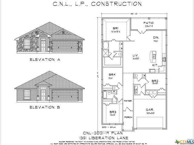 1351 Liberation Lane, Copperas Cove, TX 76522 (MLS #421684) :: The Real Estate Home Team