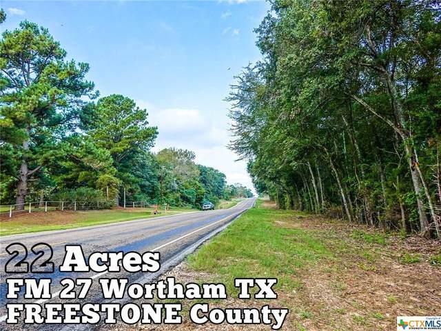 22-ac Fm 27, Wortham, TX 76693 (MLS #422393) :: Vista Real Estate