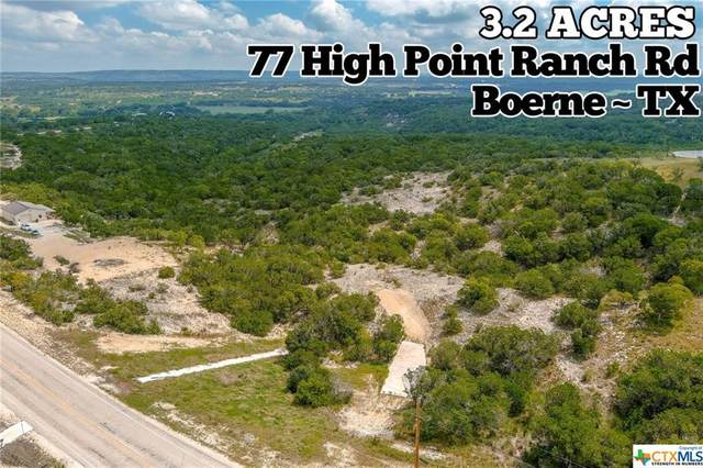 77 High Point Ranch Road, Boerne, TX 78006 (MLS #422626) :: Brautigan Realty