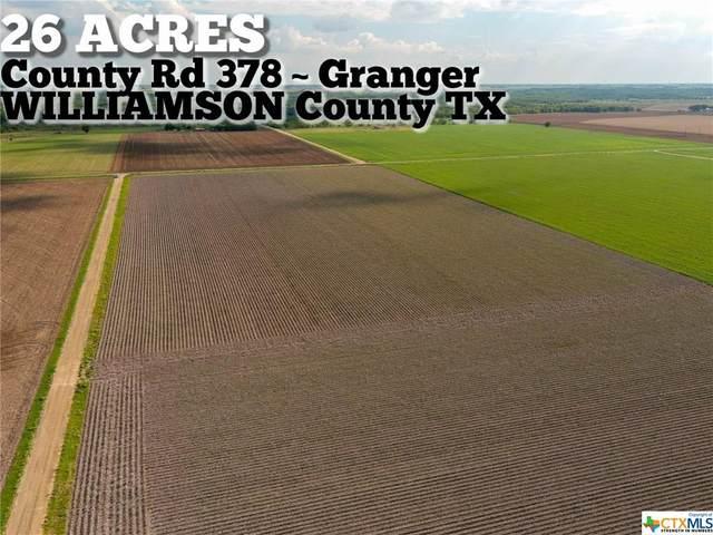 26-ac County Road 378, Granger, TX 76530 (MLS #422706) :: Vista Real Estate