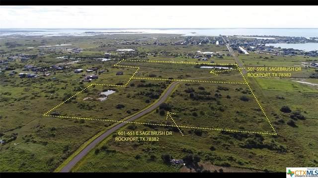 601-651 E Sagebrush Drive, Rockport, TX 78382 (MLS #424022) :: Kopecky Group at RE/MAX Land & Homes