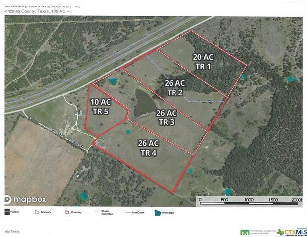 760 Cr 413A Tract 1, Waelder, TX 78959 (MLS #424768) :: The Real Estate Home Team