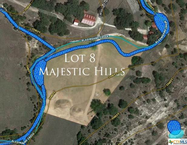 Lot 8 Majestic Hills, Blanco, TX 78606 (MLS #425368) :: Kopecky Group at RE/MAX Land & Homes