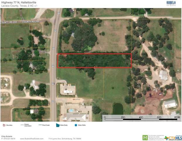TBD Us Hwy 77 N, Hallettsville, TX 77964 (MLS #433148) :: The Zaplac Group