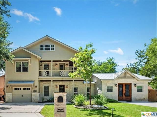 939 Hayselton Avenue, New Braunfels, TX 78130 (MLS #435702) :: RE/MAX Family
