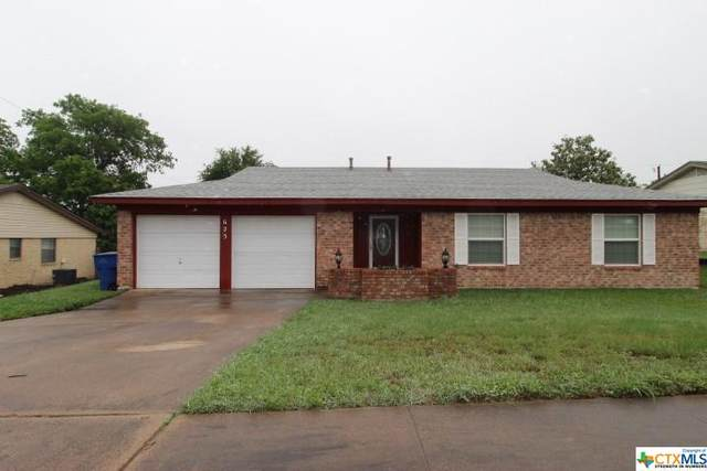 625 Manning Drive, Copperas Cove, TX 76522 (MLS #438281) :: Kopecky Group at RE/MAX Land & Homes