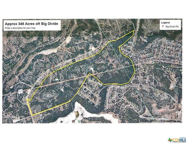 348.22 Acres Big Divide Road, Copperas Cove, TX 76522 (#440987) :: Realty Executives - Town & Country