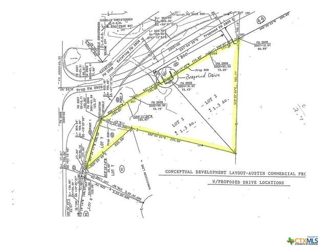 2.71 +/- Acres Fm 2657 & 2808, Kempner, TX 76539 (MLS #442112) :: Rebecca Williams