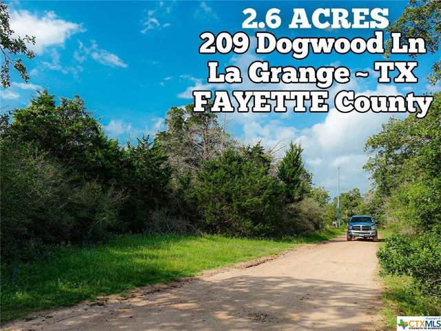 2.6-ac Dogwood Lane, La Grange, TX 78945 (MLS #442175) :: Rebecca Williams