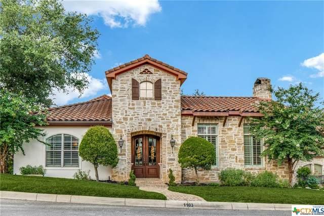 1103 Tuscan Ridge Drive, New Braunfels, TX 78130 (MLS #444253) :: The Myles Group