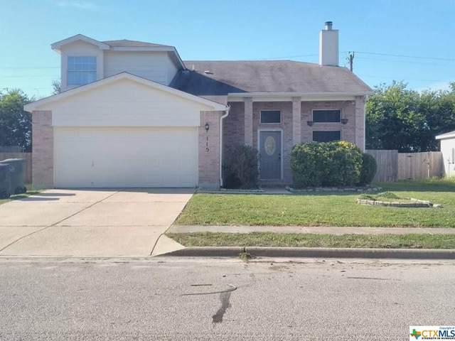 115 Echo Village Drive, Temple, TX 76502 (MLS #454572) :: Brautigan Realty