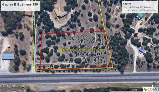 4 acres E Business 190 Highway, Copperas Cove, TX 76522 (MLS #331036) :: Erin Caraway Group