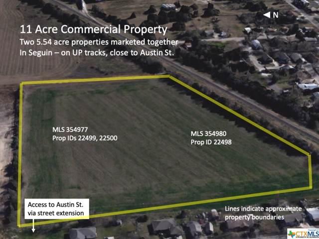 0 Railroad, Seguin, TX 78155 (MLS #354980) :: Kopecky Group at RE/MAX Land & Homes