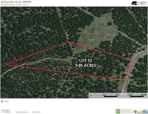 TBD-Lot 52-9.85 Acre Longview Drive, Lampasas, TX 76550 (MLS #440673) :: Rebecca Williams
