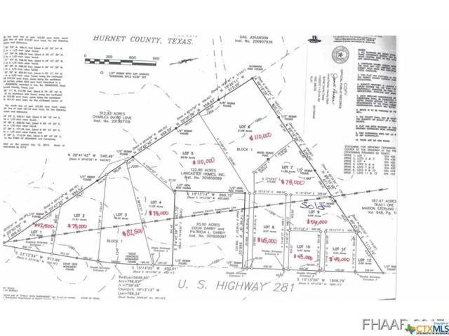 11.7 Acres Hwy 281, Lampasas, TX 76550 (MLS #8214153) :: Kopecky Group at RE/MAX Land & Homes