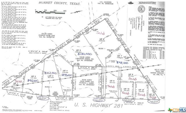 11.2 Acres Hwy 281, Lampasas, TX 76550 (MLS #8214158) :: The Graham Team