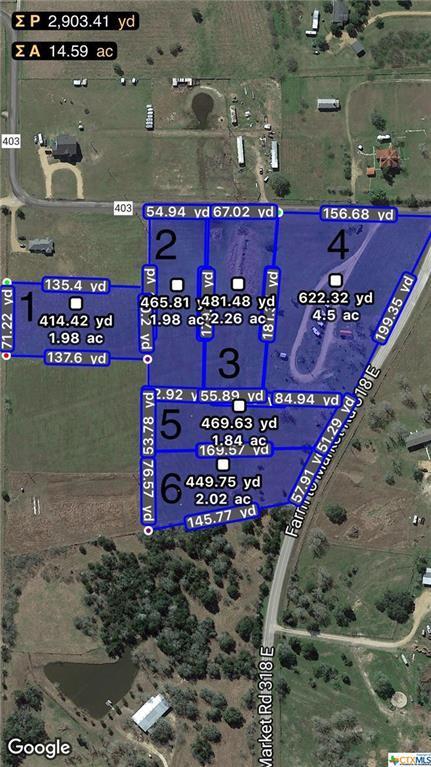 00 County Road 403, Yoakum, TX 77995 (MLS #343612) :: RE/MAX Land & Homes