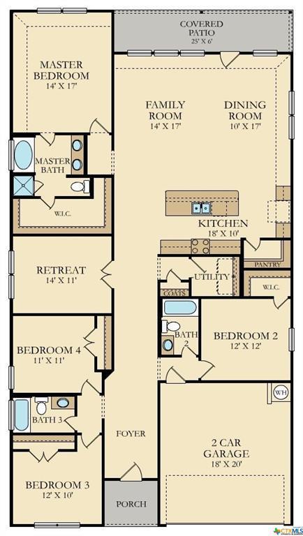 411 Agave Flats, New Braunfels, TX 78130 (MLS #344594) :: Berkshire Hathaway HomeServices Don Johnson, REALTORS®
