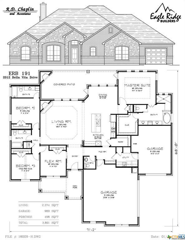 2012 Bella Vita Drive, Nolanville, TX 76559 (MLS #349026) :: Texas Premier Realty