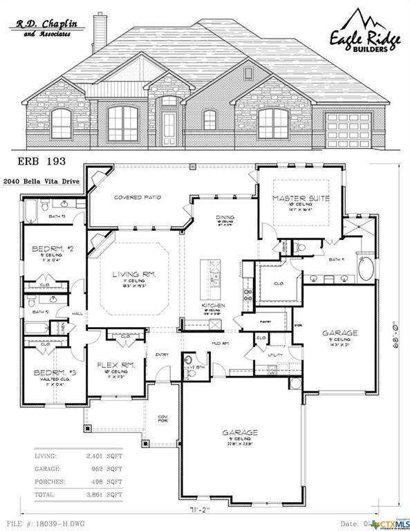 2040 Bella Vita Drive, Nolanville, TX 76559 (MLS #349066) :: Texas Premier Realty