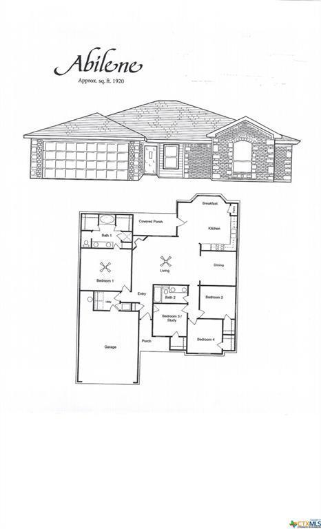 1038 Declaration Drive, Copperas Cove, TX 76522 (MLS #350386) :: Texas Premier Realty