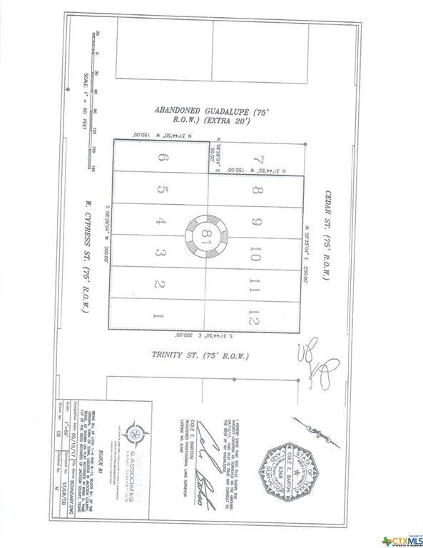 Lot 8 Cedar, Edna, TX 77957 (MLS #350605) :: RE/MAX Land & Homes