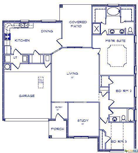 309 Pointer, Nolanville, TX 76559 (MLS #373861) :: Vista Real Estate
