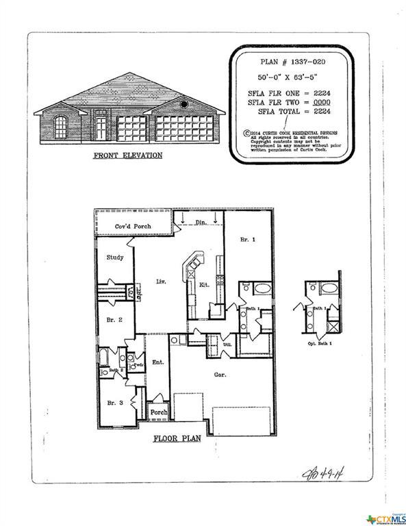 704 Damascus Drive, Belton, TX 76513 (MLS #379540) :: The Real Estate Home Team