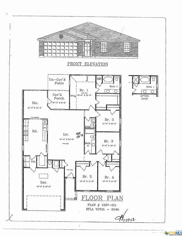 6807 Oliver Loving Drive, Killeen, TX 76549 (MLS #380151) :: Vista Real Estate