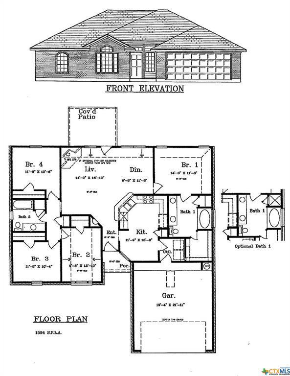 6803 Oliver Loving Drive, Killeen, TX 76549 (MLS #382237) :: Vista Real Estate