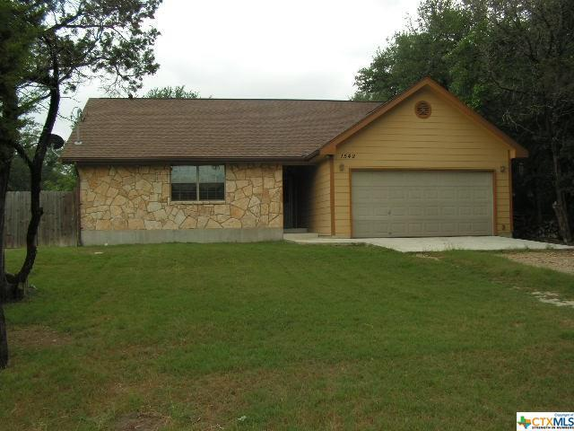 1542 Canyon Bend, Canyon Lake, TX 78133 (MLS #384672) :: Berkshire Hathaway HomeServices Don Johnson, REALTORS®