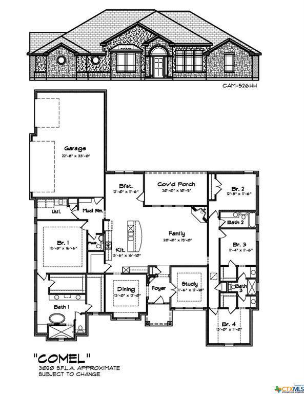 4003 Fossil Ridge Drive, Nolanville, TX 76559 (MLS #392555) :: Marilyn Joyce | All City Real Estate Ltd.