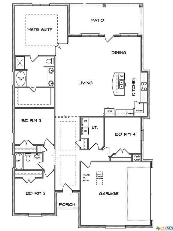 7207 Diamond Dove Drive, Temple, TX 76502 (MLS #396028) :: The Real Estate Home Team