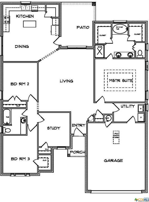 7407 Diamond Dove Drive, Temple, TX 76502 (MLS #396041) :: The Real Estate Home Team